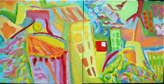 Village by Susan Vrotsos