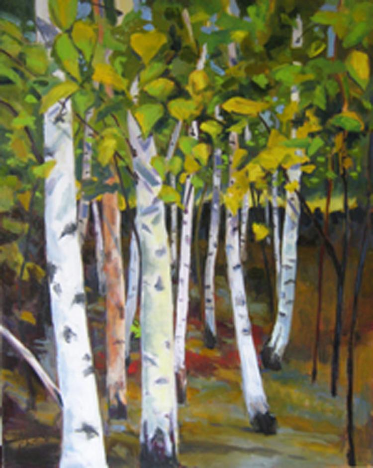 Birch Grove by JoAnne Chittick