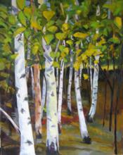 Birch Grove by JoAnne Chittick