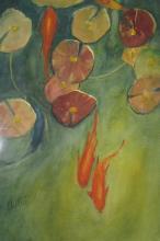 Fishpond: Duet by JoAnne Chittick