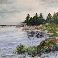 Lane's Island Tide by Jane Sherrill