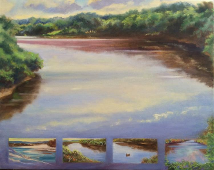 Connecticut River by Gillian Haven
