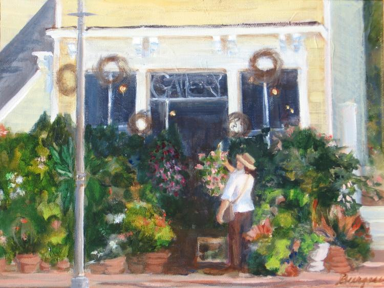Flower Shop by Susan Burgess