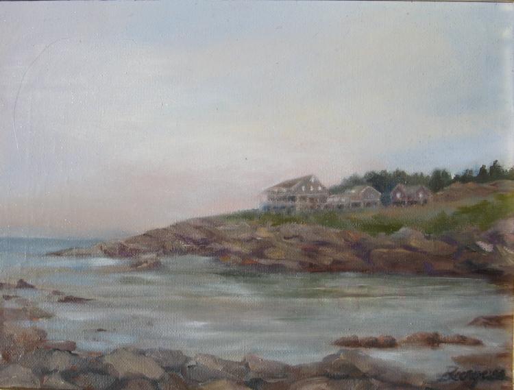 Maine Retreat  by Susan Burgess