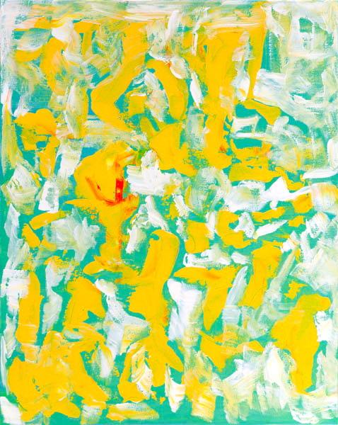 Yellow Kitchen by Jane Coder