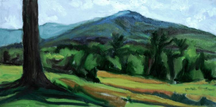 Mount Monadnock from Dublin by Judith Prager