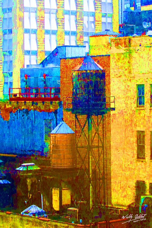 Watertower - New York #1 by Wally Gilbert