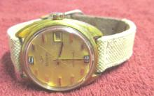 Duval Gold Tone Automatic Man's Watch