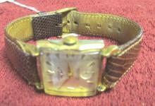 Vintage Benrus 21 Jewels, Gold-Filled, Watch