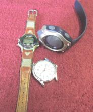 Lot Of 3 Men's Watches