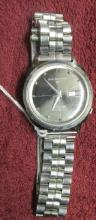 Seiko SPORTSMATIC Stainless Steel Automatic Watch