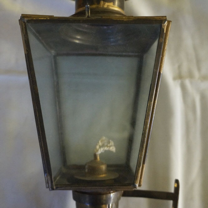 2 Vintage Brass Wall Sconces Oil Lamps