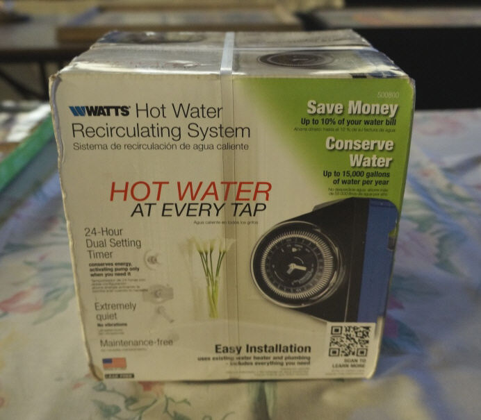 Hot water recirculating system with built in timer for Pros and cons of hot water recirculating pump