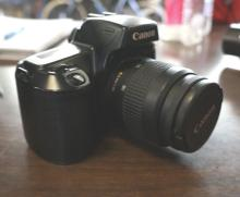 Can EOS Rebel Film Camera With 3 Lenses
