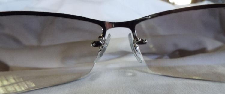 d122eaf9891 Ray Ban Wire Frame Upper Tinted Sunglasses.