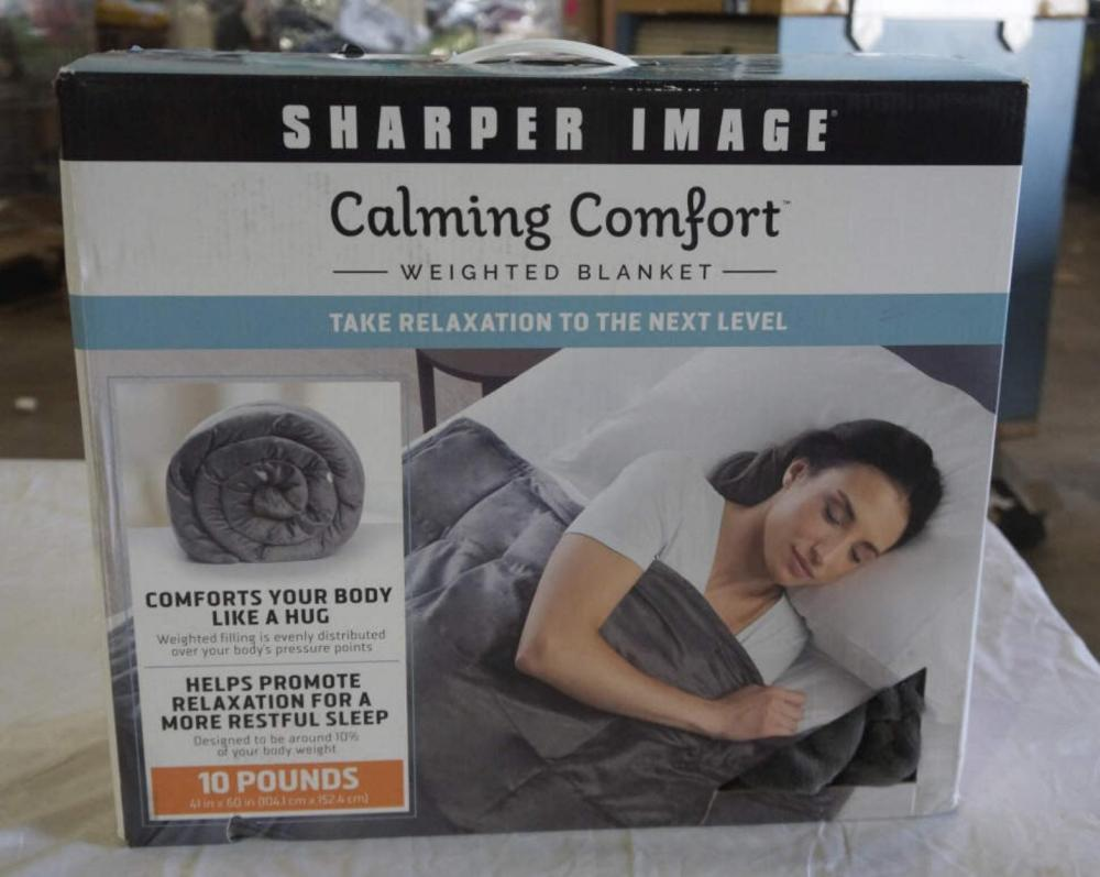 New Sharper Image 10lbs Weighted Blanket