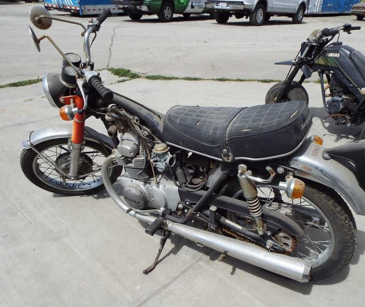 Honda 350, Orange Street Motorcycle