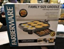Brand New Fabraware Family Size Electric Griddle