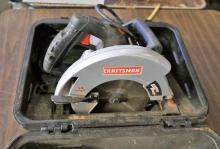 Craftsman Electric Skilsaw With Case