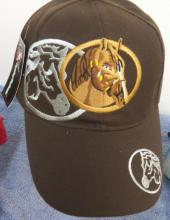 Embroidered Horse Head Cap