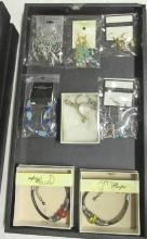 Tray Of Western Them Costume Jewelry