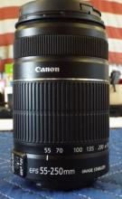 Canon  EF 55-250mm Lens, New In Box.