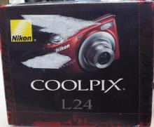 Nikon Cool Pix L24 Digital Camera, New In Box.