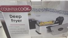 New Deep Fryer By Counter Cook