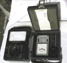 Vintage BELL SYSTEM and HANDY-TACH Meters