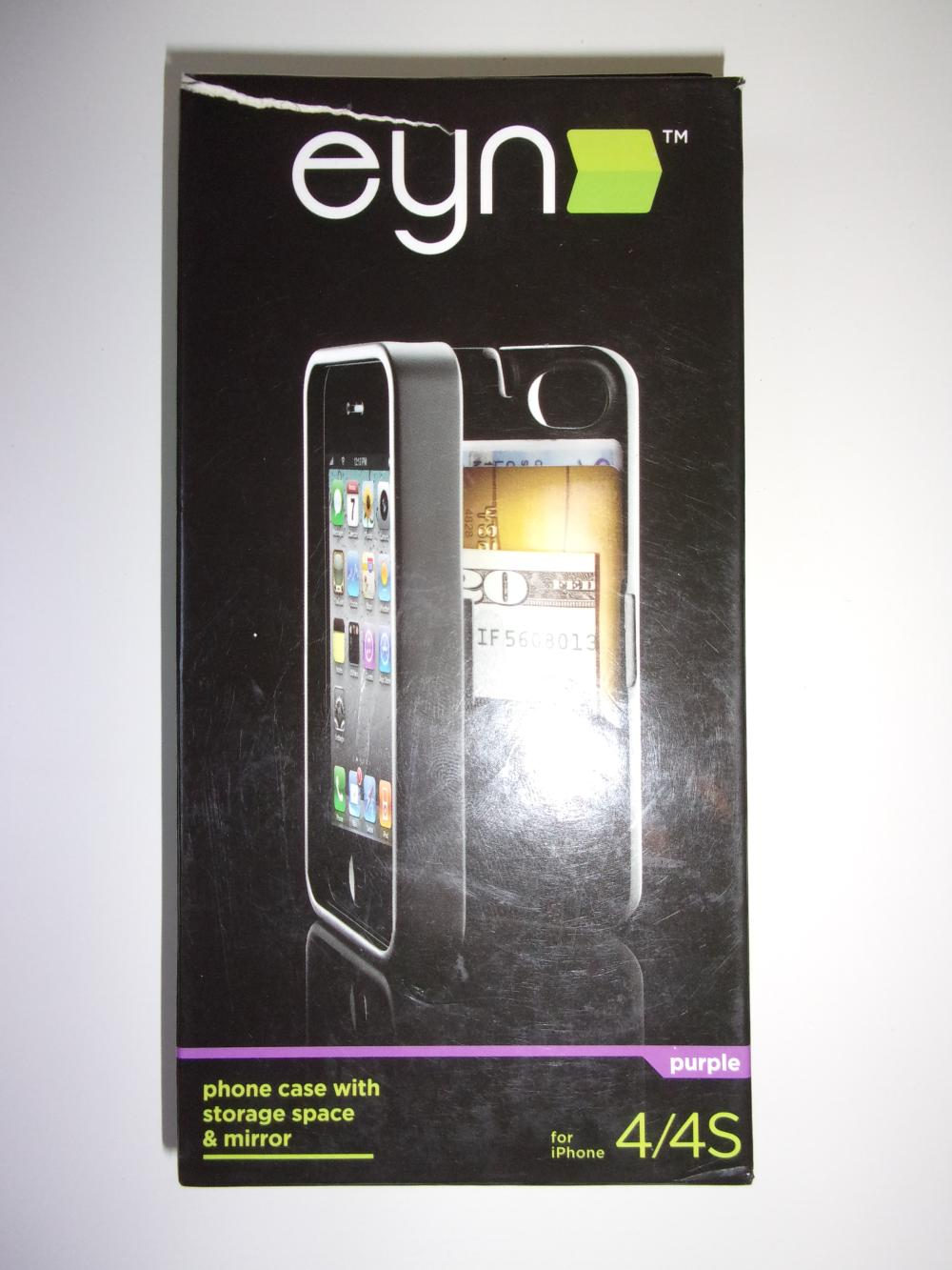 1 X **NEW** Eyn Phone Case with Storage space and mirror