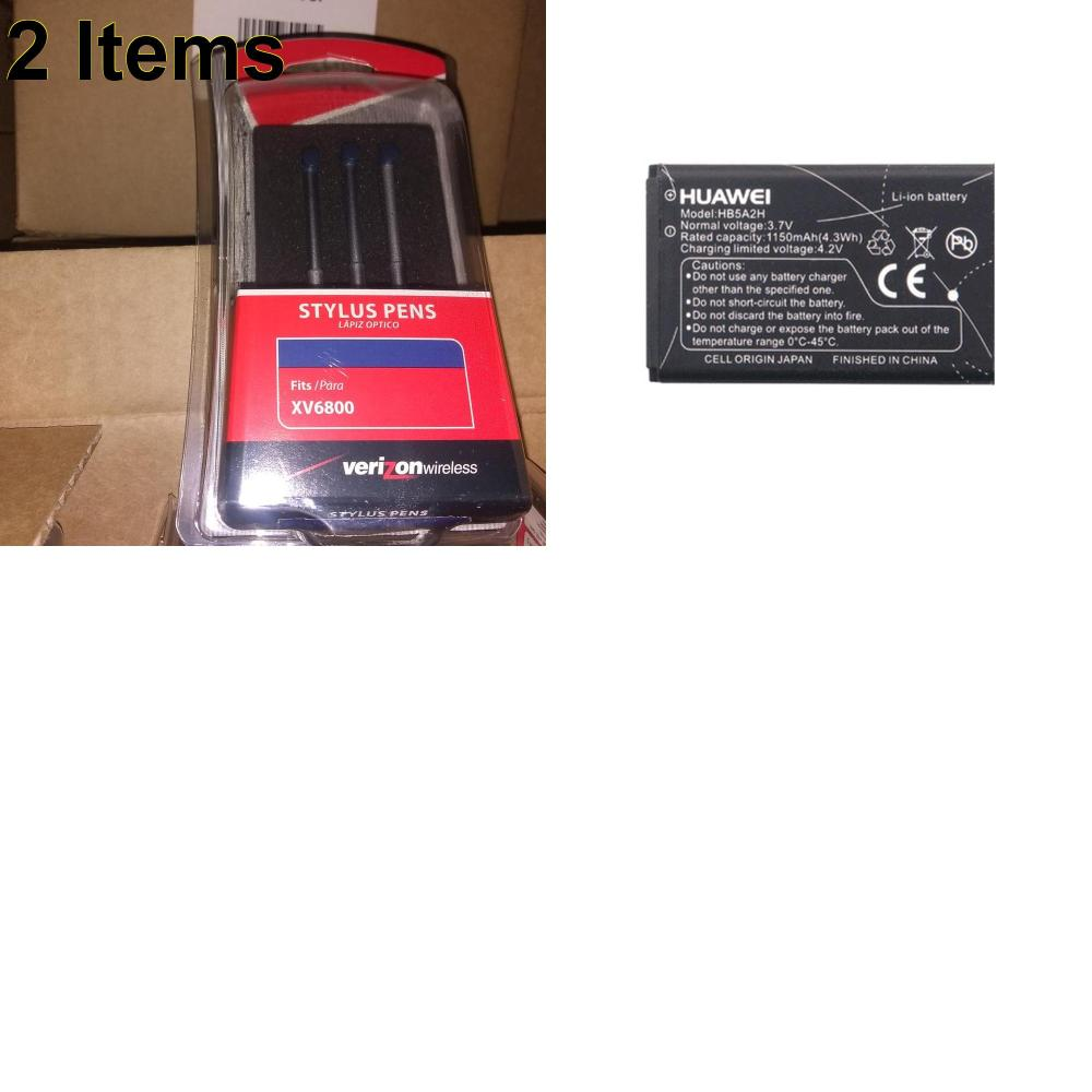 2 X **NEW** Phone Cases, Electronics and More (Huawei,UTStarcom)