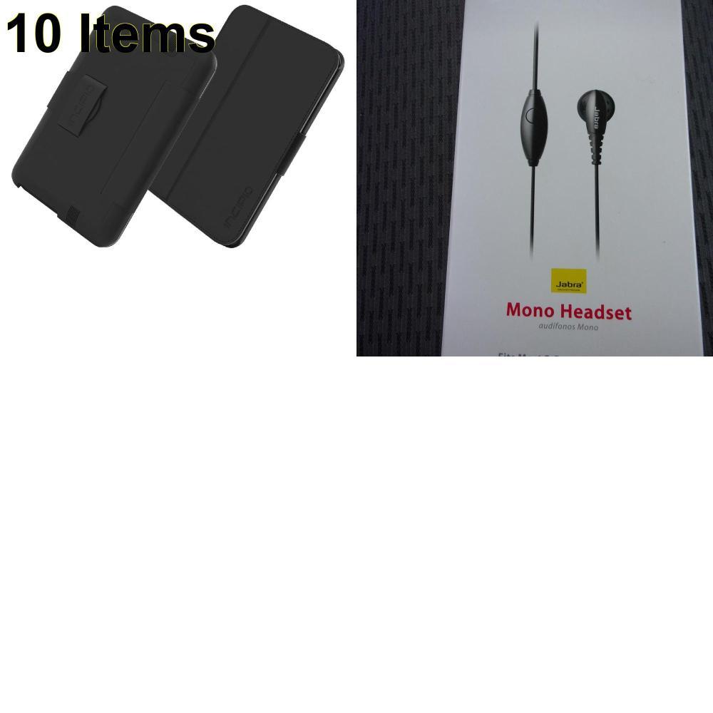 10 X **NEW** Phone Cases, Electronics and More (Incipio,Jabra)
