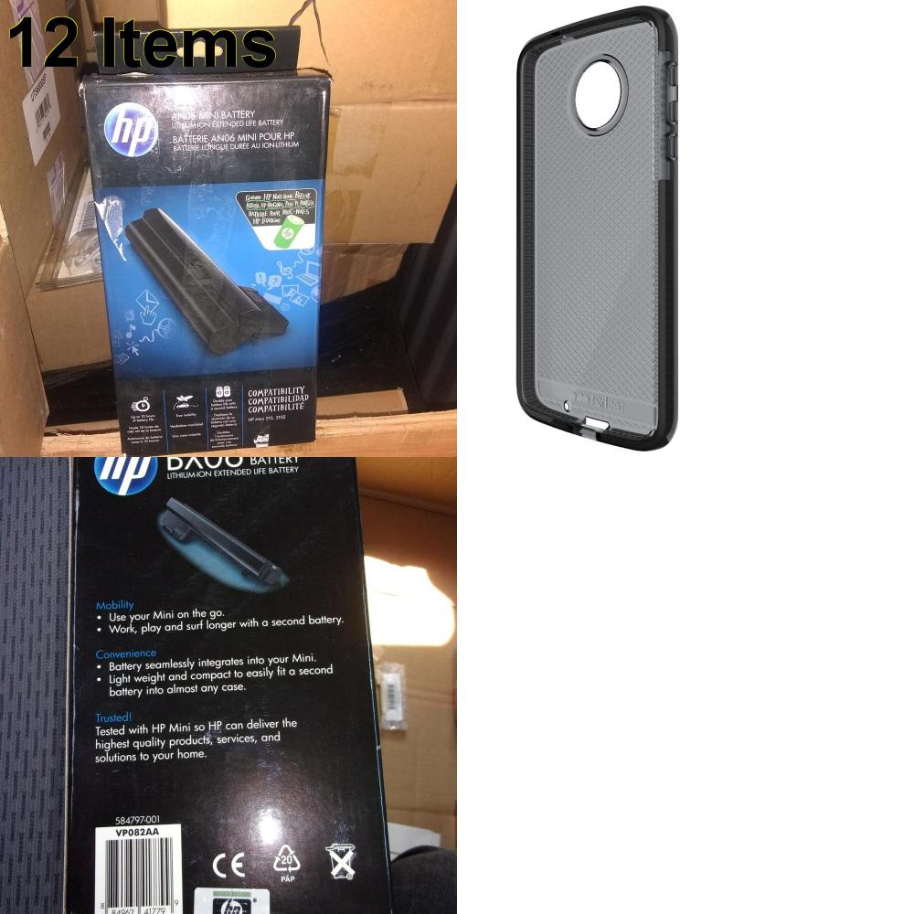 12 X **NEW** Phone Cases, Electronics and More (HP,Tech21)