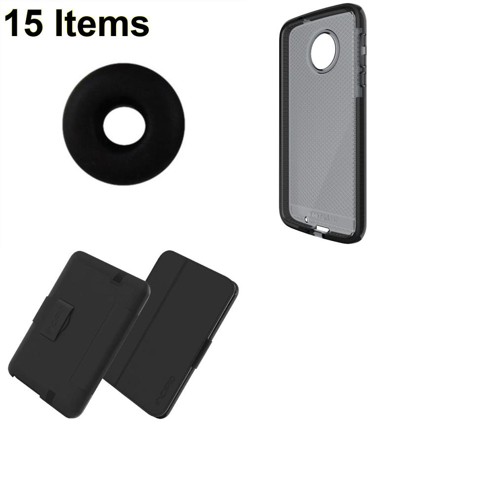 15 X **NEW** Phone Cases, Electronics and More (Incipio,Jawbone,Tech21)