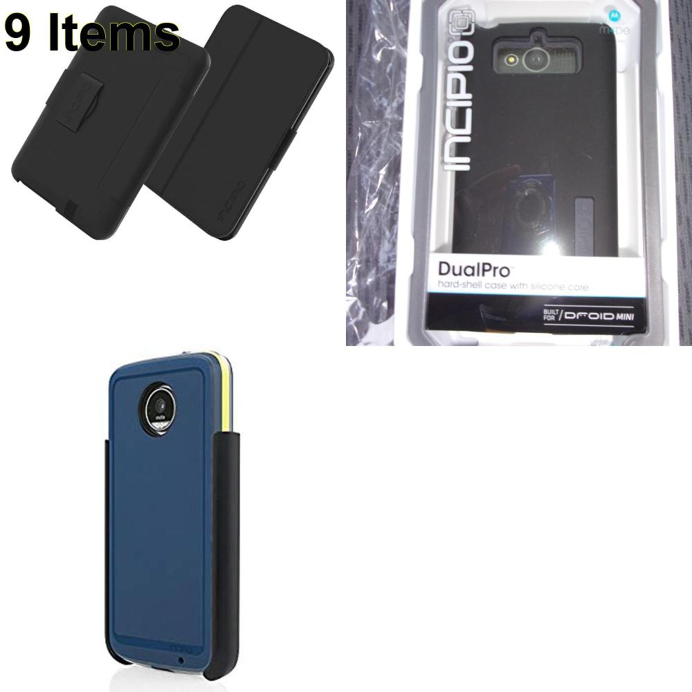 9 X **NEW** Phone Cases, Electronics and More (Incipio)