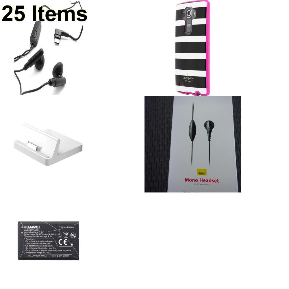 25 X **NEW** Phone Cases, Electronics and More (Apple,Huawei,Jabra,Kate Spade,Samsung)