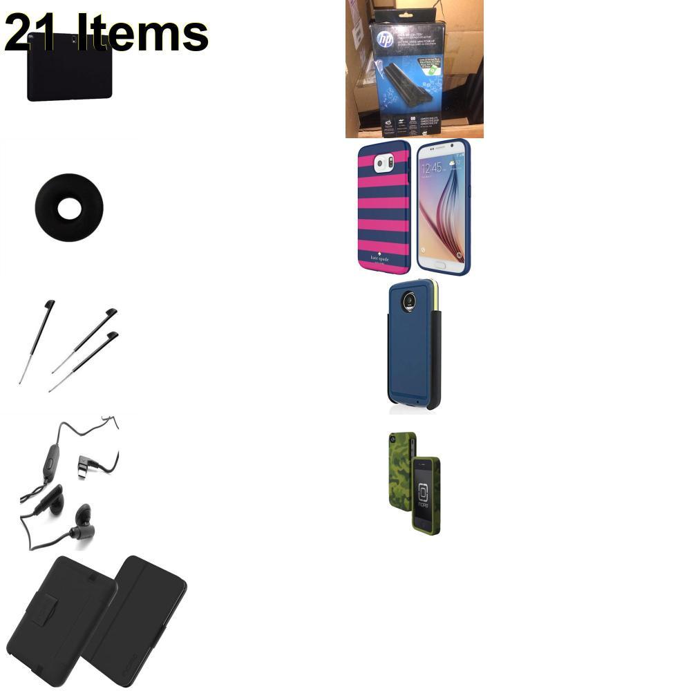21 X **NEW** Phone Cases, Electronics and More (Apple,Cas-Mate,HP,Huawei,Incipio,Jabra,Jawbone,Kate Spade,Palm,Samsung,Speck,Tech21,Verizon)