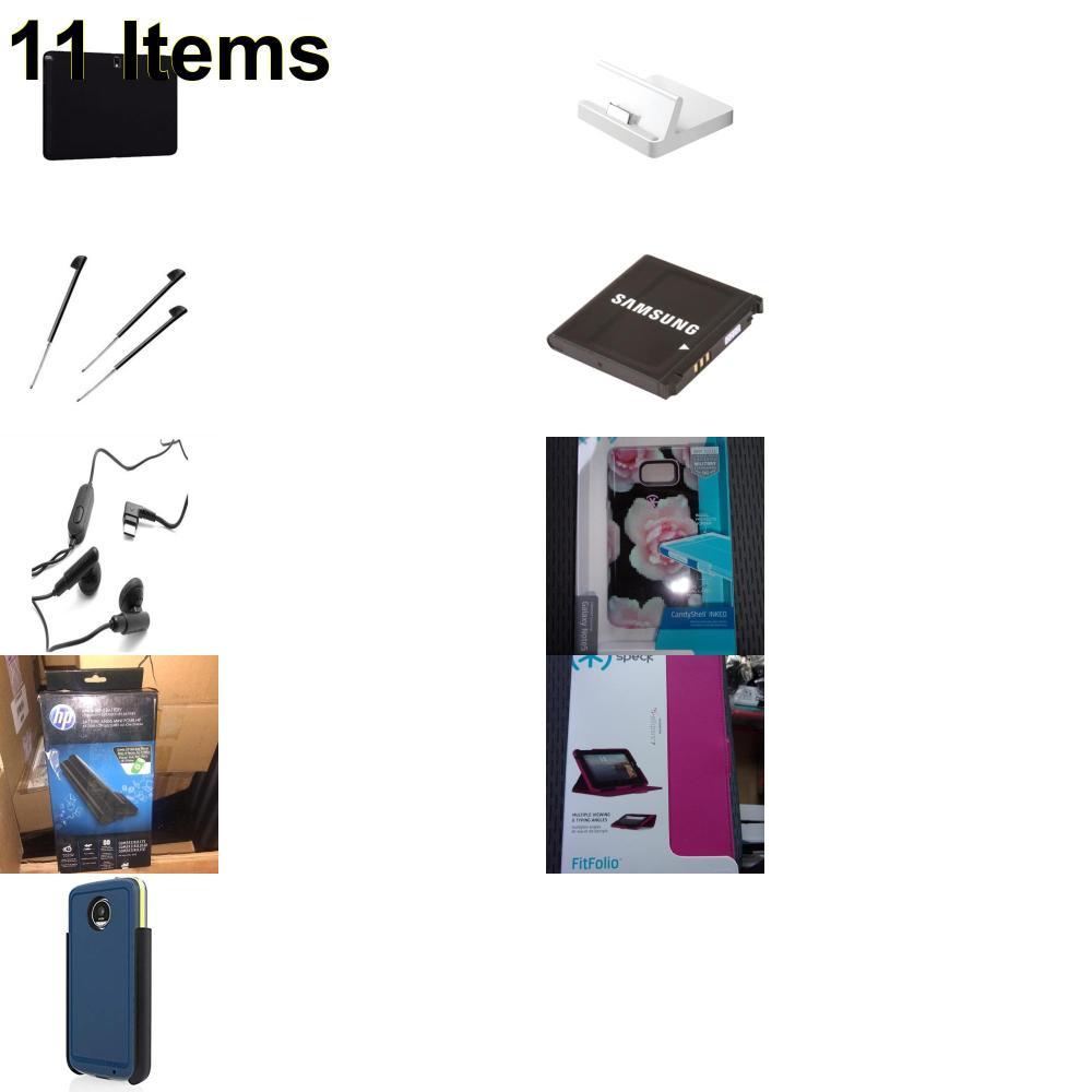 11 X **NEW** Phone Cases, Electronics and More (Apple,HP,Incipio,Jabra,Palm,Samsung,Speck,Verizon)