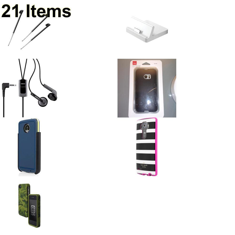 21 X **NEW** Phone Cases, Electronics and More (Apple,Incipio,Kate Spade,Nokia,Palm,Verizon)