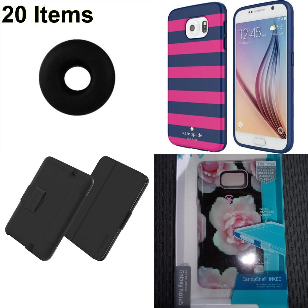 20 X **NEW** Phone Cases, Electronics and More (Incipio,Jawbone,Kate Spade,Speck)