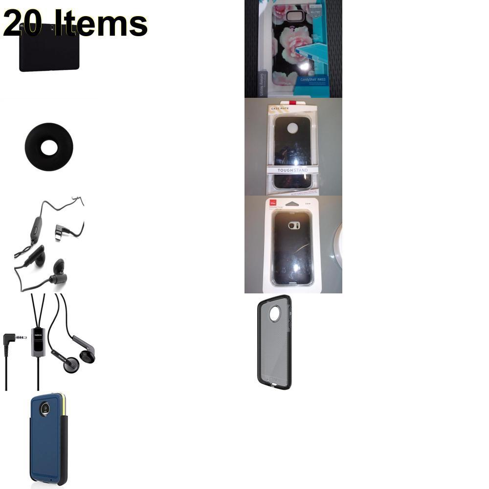 20 X **NEW** Phone Cases, Electronics and More (Cas-Mate,Incipio,Jabra,Jawbone,Nokia,Samsung,Speck,Tech21,Verizon)