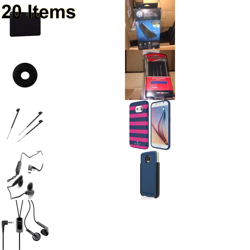 20 X **NEW** Phone Cases, Electronics and More (Apple,Cas-Mate,HP,Huawei,Incipio,Jawbone,Kate Spade,Nokia,Palm,Samsung,Speck,Tech21,UTStarcom,Verizon)