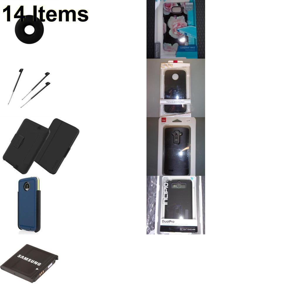 14 X **NEW** Phone Cases, Electronics and More (Cas-Mate,HP,Incipio,Jawbone,Kate Spade,Palm,Samsung,Speck,Tech21,Verizon)