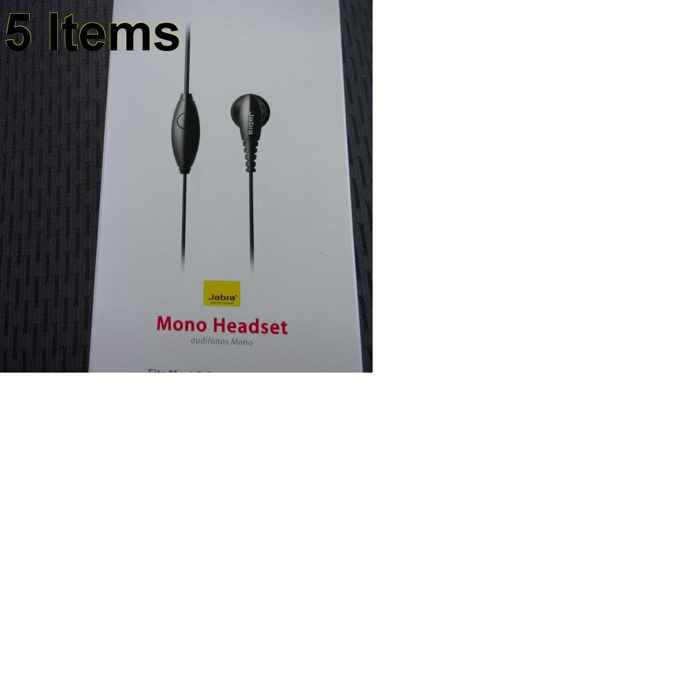 5 X **NEW** Phone Cases, Electronics and More (Jabra)
