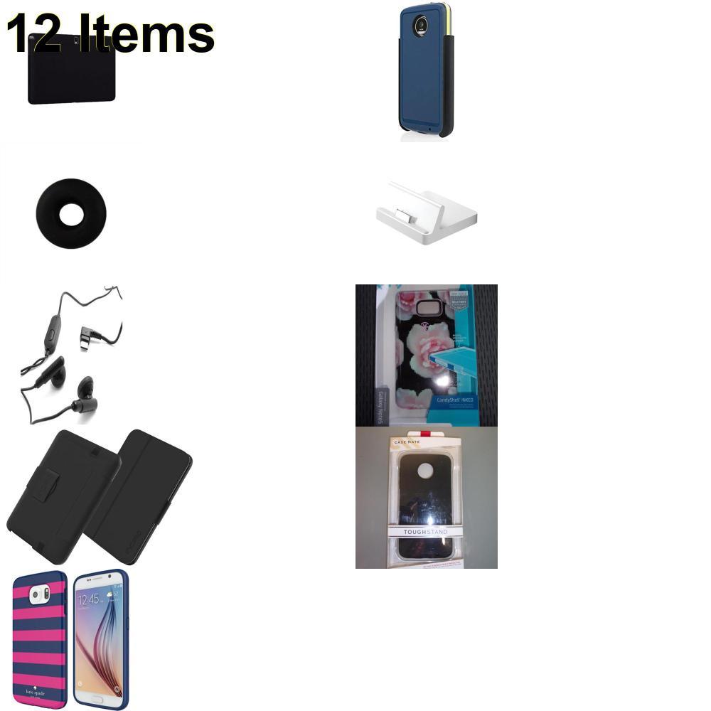 12 X **NEW** Phone Cases, Electronics and More (Apple,Cas-Mate,HP,Huawei,Incipio,Jawbone,Kate Spade,Samsung,Speck,Verizon)