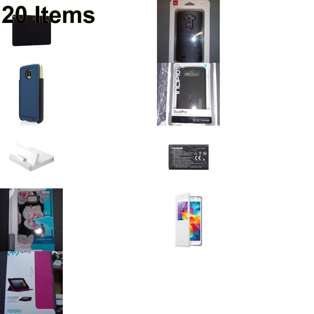 20 X **NEW** Phone Cases, Electronics and More (Apple,Incipio,Speck,Verizon)