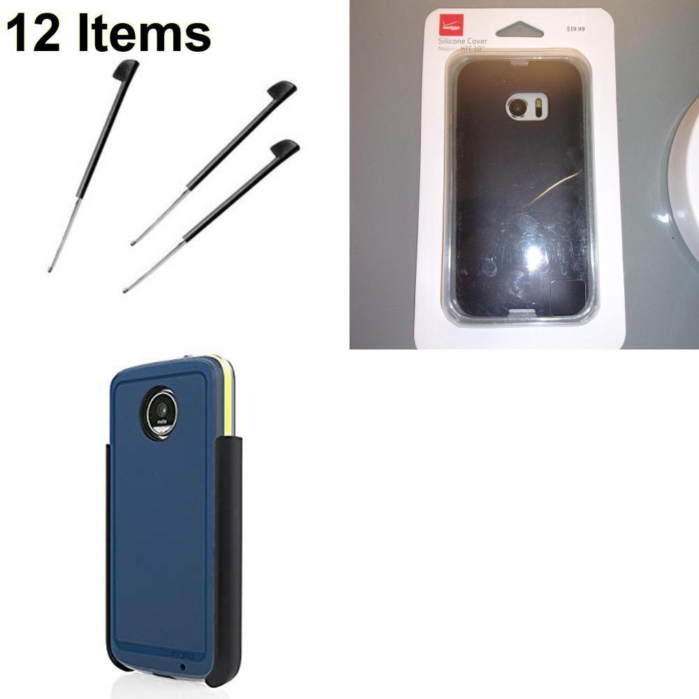 12 X **NEW** Phone Cases, Electronics and More (Incipio,Palm,Verizon)