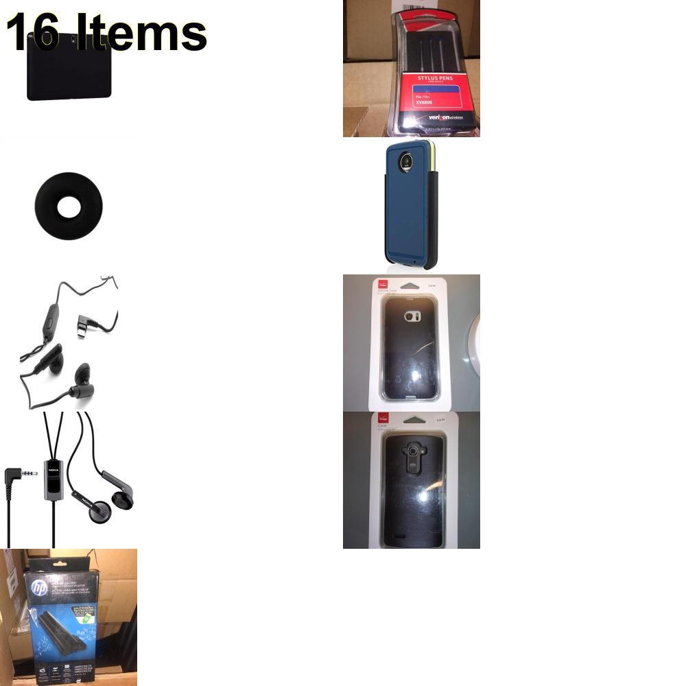 16 X **NEW** Phone Cases, Electronics and More (HP,Huawei,Incipio,Jabra,Jawbone,Kate Spade,Nokia,Samsung,Speck,Tech21,UTStarcom,Verizon)