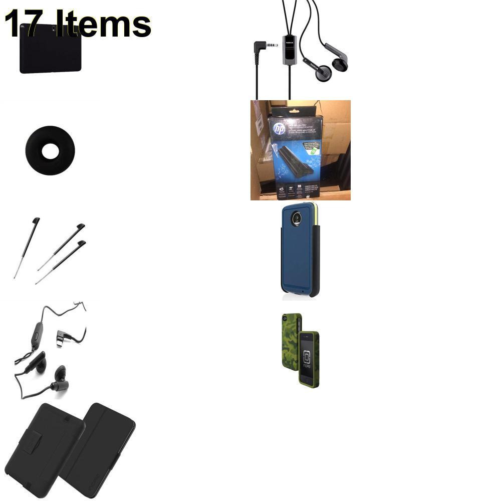 17 X **NEW** Phone Cases, Electronics and More (Apple,Cas-Mate,HP,Incipio,Jabra,Jawbone,Nokia,Palm,Samsung,Speck,Verizon)