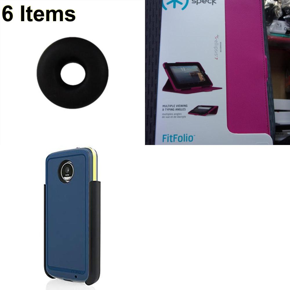 6 X **NEW** Phone Cases, Electronics and More (Incipio,Jawbone,Speck)
